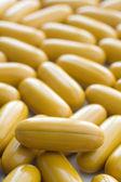 Yellow pills — Stock Photo
