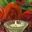 Candle still life — Stock Photo #9675293