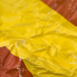 Spain flag detail — Stock Photo #9721657