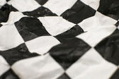 Checkered race flag — Stock Photo