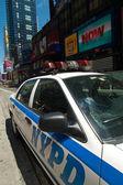 NYPD car — Stock Photo