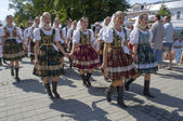 Slovak folklore — Stock Photo