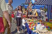 Street markets — Stock Photo