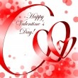 Royalty-Free Stock Vector Image: Valentine white Background