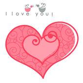 Sevgililer günü kalpleri — Stok Vektör