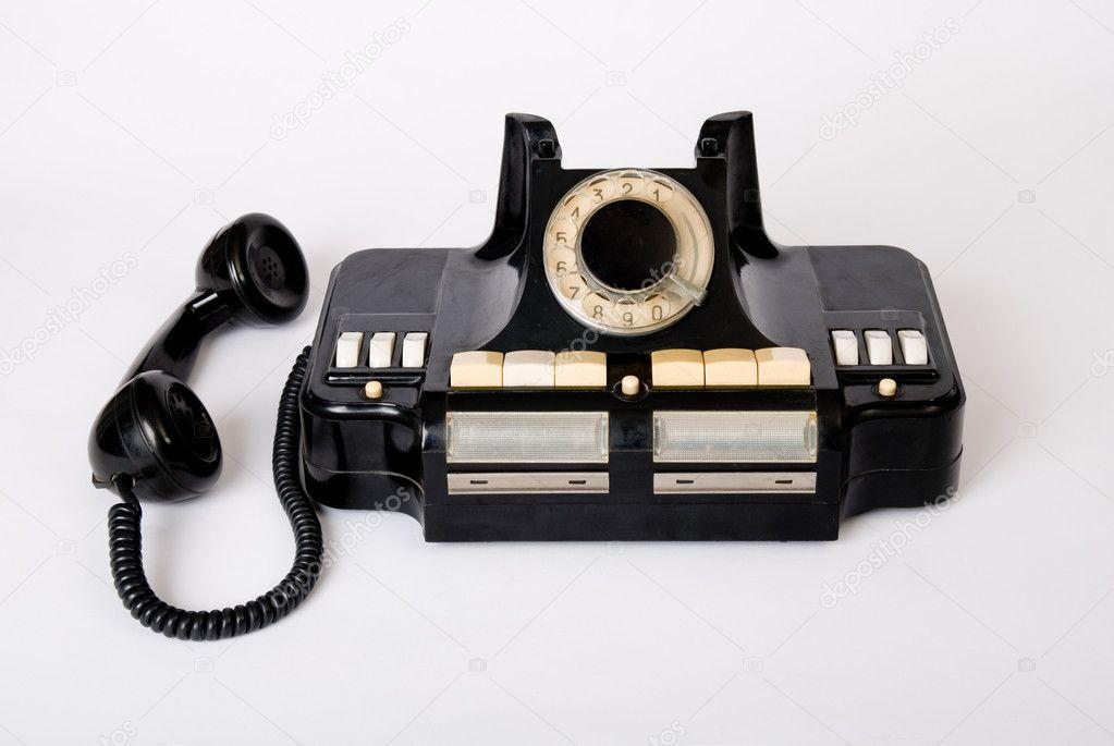 Tecnología Antigua De Teléfono Antiguo