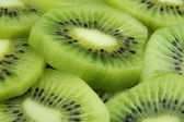 Kiwi fruit slices — Stock Photo