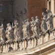 Stock Photo: Statuary, St Peters, Rome