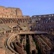 Colosseum, Rome, interior — Stock Photo