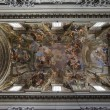 Jesuit church, Rome, ceiling — Stock Photo