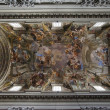 Stock Photo: Jesuit church, Rome, ceiling