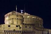 Castel Sant' Angelo at night — Stock Photo
