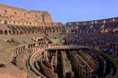 Kolosseum, rom, interieur — Stockfoto