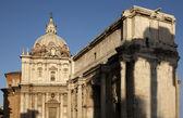 Roman Forum, Arch of Septimius Severus — Stock Photo