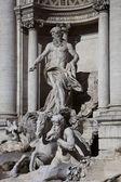 Fontanna di trevi, detal — Zdjęcie stockowe