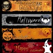 Royalty-Free Stock Vector Image: Halloween Banners