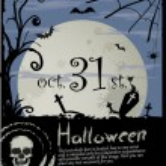 Halloween background — Stock Vector #8626535