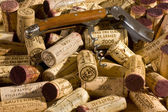 Wine corks and Wine Bottle Opener — Stock Photo