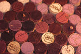 Red wine corks — Stock Photo