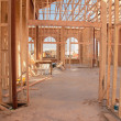 Stock Photo: Home Construction