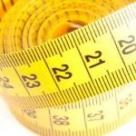 Yellow Measuring Tape — Stock Photo #9633599