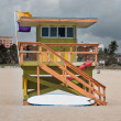 Lifeguard Shack — Stock Photo