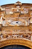 Facade of Montserrat monastery, Catalunia, Spain — Stock Photo