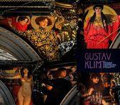 Collection of Gustav Klimt fresque in KHM Museum (Kunsthistorisches Museum) in Vienna — Stock Photo