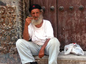 Old Cuban man — Stock Photo
