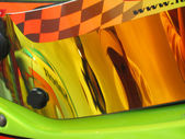 Helmet visor — Stock Photo