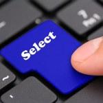 klavyeyi seçin — Stok fotoğraf