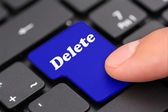 Delete keyboard — Stock Photo