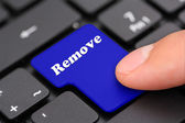 Remove keyboard — Stock Photo