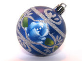 Ёлочная игрушка. New Year's ornament for a fur-tree — Stock Photo