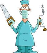 Surgeon — Stock Vector