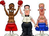 Boxers — Stock Vector