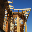 Stock Photo: Structure wooden