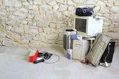 Computer scrap — Stock Photo