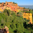 Village Roussillon — Stock Photo