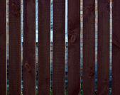 Wood fence board — Stock Photo