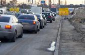 Congestion car — Stock Photo