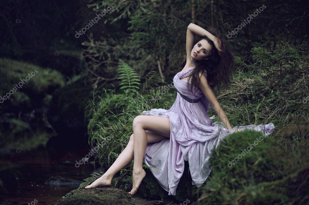 Пейзажи природы картинки девочка