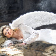 Beauty angel — Stock Photo