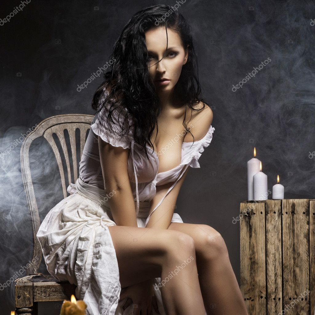 Sexy vintage women — Stock Photo #9942356