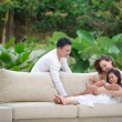 Asian Family Happy Together — Stock Photo #8279039