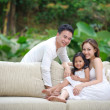 Asian Family Happy Together — Stock Photo #8279041