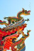Dragon and phoenix — Stock Photo