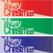 Vector Christmas Banner — Stock Vector