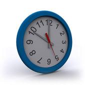 Isolado 3d renderizados relógio de parede — Fotografia Stock