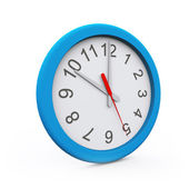 Isolated 3D rendered Wall Clock — Stockfoto